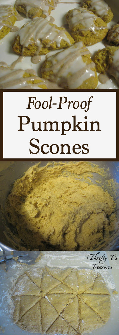 Put down the cookies and grab one of these Pumpkin Scones. They're the perfect for fall breakfast, treat or snack. It'll be one of your fav pumpkin recipes!