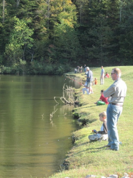 Kids Fishing Event