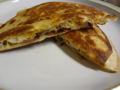 Chicken Ranch Quesadillas