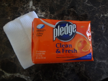 pledge dust cloths