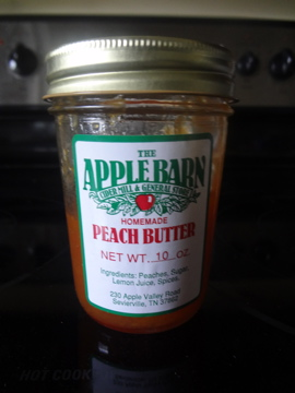 Apple Barn Peach Butter Review - Find out what this skeptic thought!