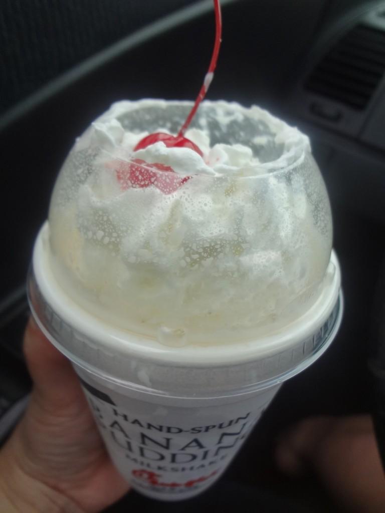 Chick-fil-A Banana Pudding Milkshake