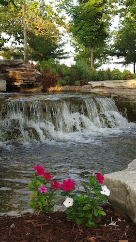 Chateau on the Lake Gardens in Branson Missouri 2