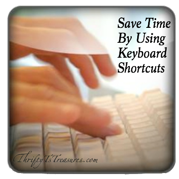 Save Time By Using Keyboard Shortcuts