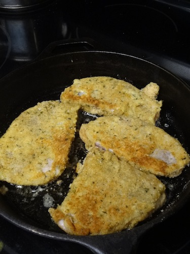 Until I tried this recipe, I was intimidated by pork chops. These Crispy Breaded Pork Chops were a hit and I got the green light to make them again!