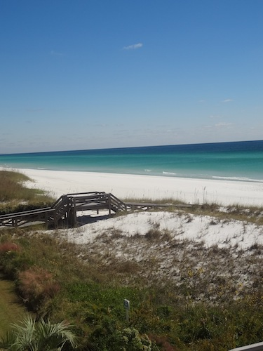 beach at destin on the gulf