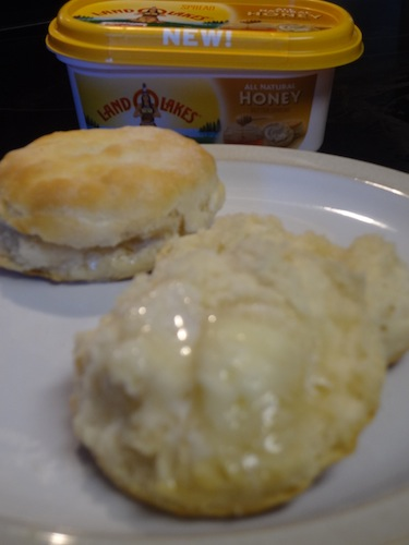 land o lakes honey butter on biscuits