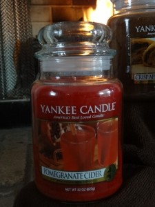 yankee candle pomegranate cider