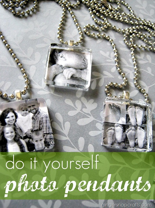 do it yourself photo pendants