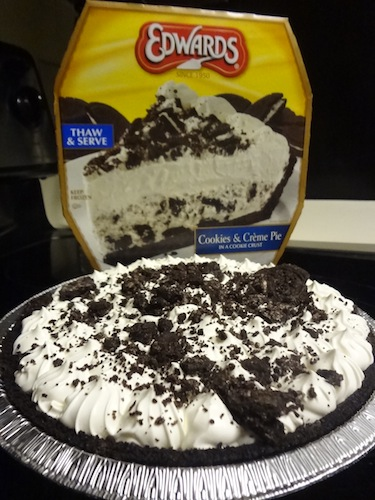 edwards cookies and cream pie 1