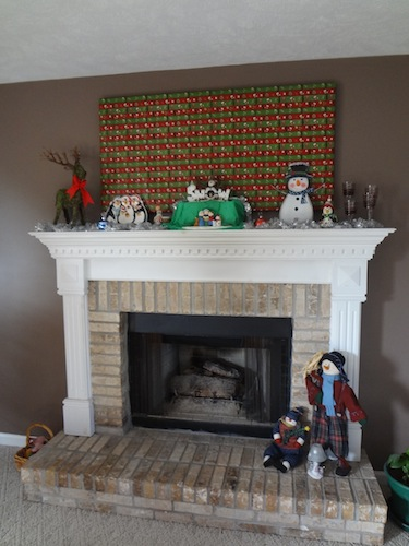 mantle after