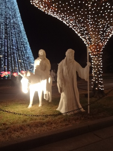 opryland hotel christmas lights 3