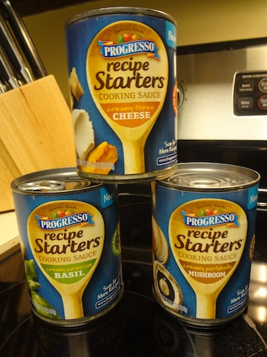 progresso recipe starters