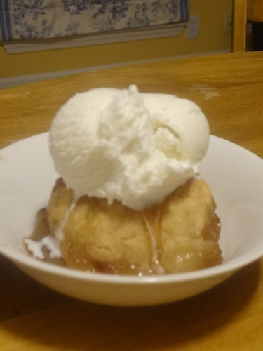 apple dumplings 1