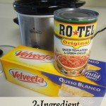 2 Ingredient Slow Cooker Queso