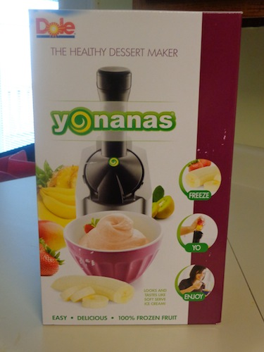 Yonanas serves up all fruit ice cream that's both easy to make and delicious. Plus, clean-up is a cinch with only four pieces to wash!