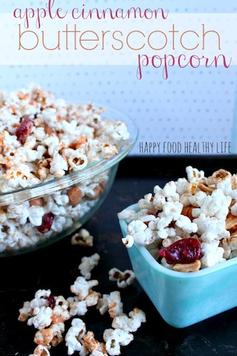 apple cinnamon butterscotch popcorn