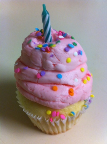 gigis birthday surprise cupcake