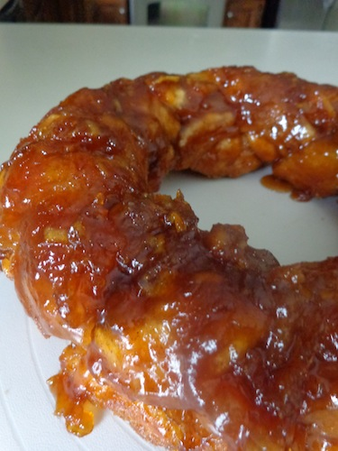 Caramel Orange Monkey Bread