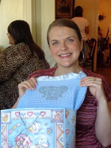 charity at baby tea