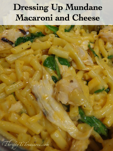 Dressing Up Mundane Macaroni and Cheese - No more boring mac and cheese, dress up it with endless possibilities!