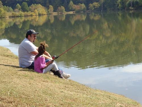 kids fishing event 2013