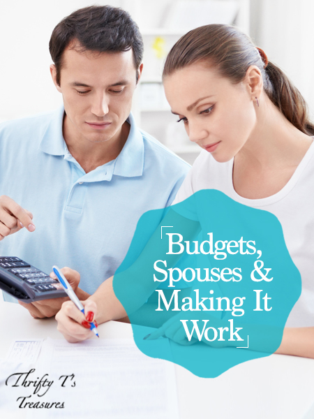Living on a budget isn't always easy, especially for beginners. Your excel sheet or envelopes are ready to go and it's time get started, but you can't seem to get your spouse on board. He loves the idea of saving money and becoming debt free but the idea of planning weekly or monthly just doesn't sound like fun. How can you make it work? I'm sharing all about money and how my husband and I make a budget work in our marriage. Stop by to hear our ideas and grab a few simple tips!