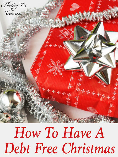 It is possible to have a debt free Christmas, but it's a choice you must make! I'm sharing a few tips that have helped me have a debt free Christmas!