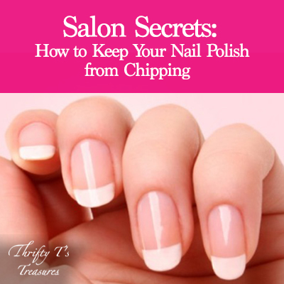 Salon Secrets How To Keep Your Nail Polish From Chipping Featured