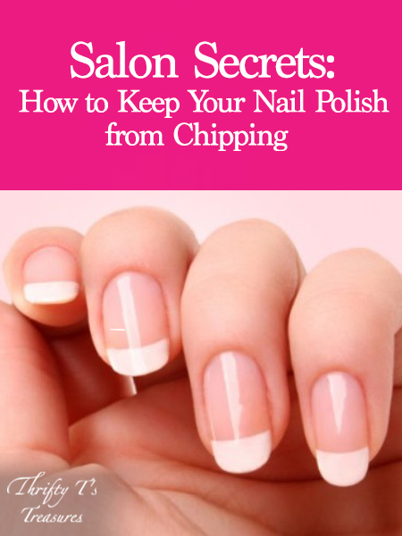 Salons don't want you to know their tricks and hacks for long lasting manicures. I'm a nail tech who is excited to share one of my best beauty hacks with you...how to keep your nail polish from chipping! If you apply these simple tips you'll learn how fun and easy it is to diy your nails at home and get longer lasting polish. I promise it works (for toes too)! This is one of those awesome tutorials that every girl needs in her life. Stop by and see my ideas for yourself…no doubt it'll be life changing!