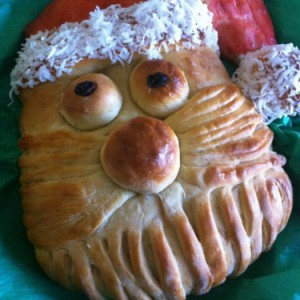 do it yourself santa bread
