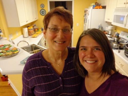 mom and tshanina