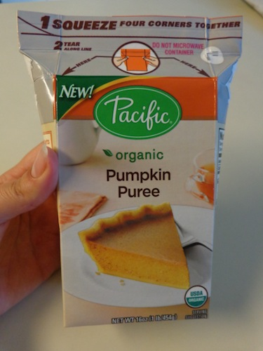 pacific pumpkin puree