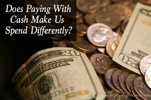 Does Paying With Cash Make Us Spend Differently
