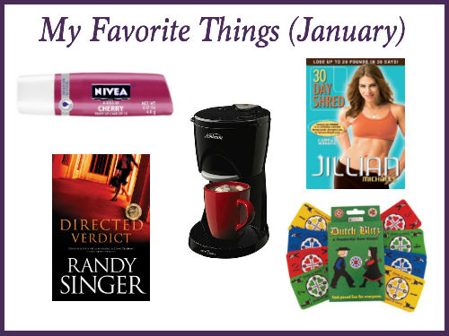 my favorite things january