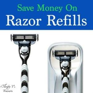 Save Money On Razor Refills Featured