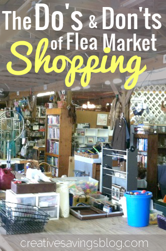 the dos and donts of flea market shopping
