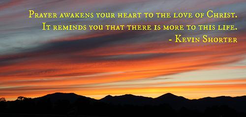 Prayer Awakens The Heart
