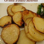 Super Simple Grilled Potato Rounds