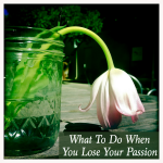 What To Do When You Lose Your Passion