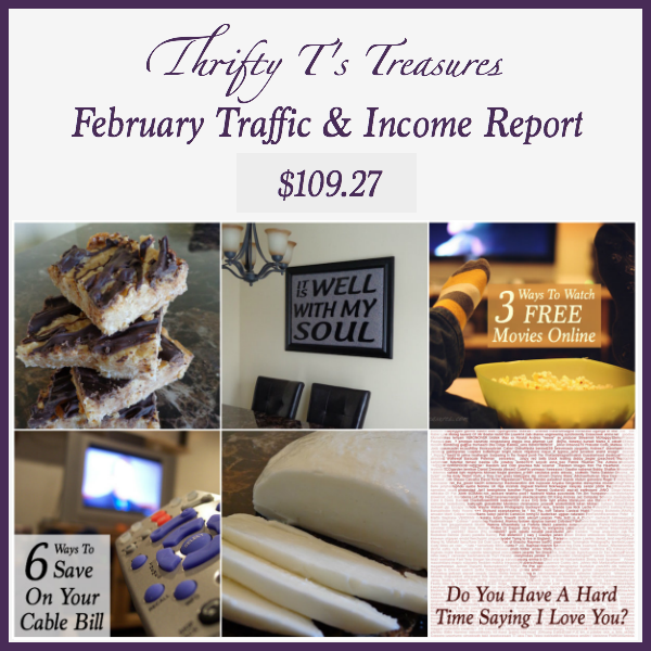 february traffic and income report