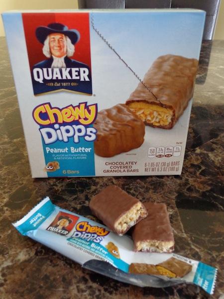 quaker chewy dipps peanut butter