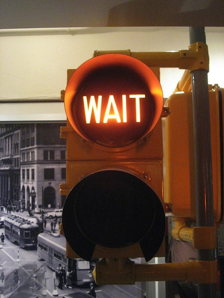 Waiting can be difficult. When you don't want to wait - that's what I'm talking through today!