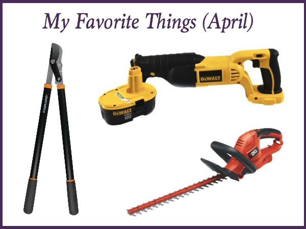 my favorite things april