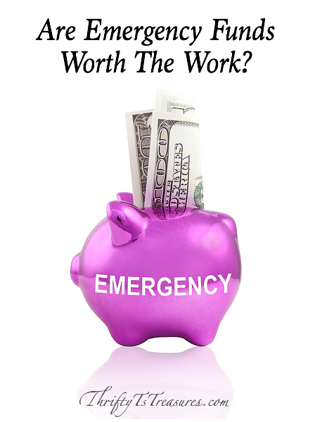 I'll be the first to admit that building your emergency fund can be a bumpy road, but I definitely think it's worth the work. Stop by and see why!