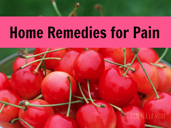 Home Remedies For Pain