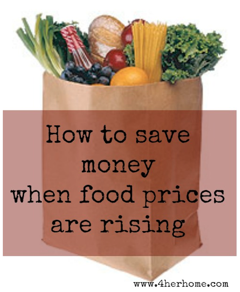 How To Save Money When Food Prices Are Rising