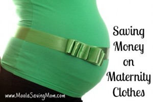 Saving on Maternity Clothes