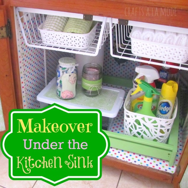 Under The Kitchen Sink Makeover