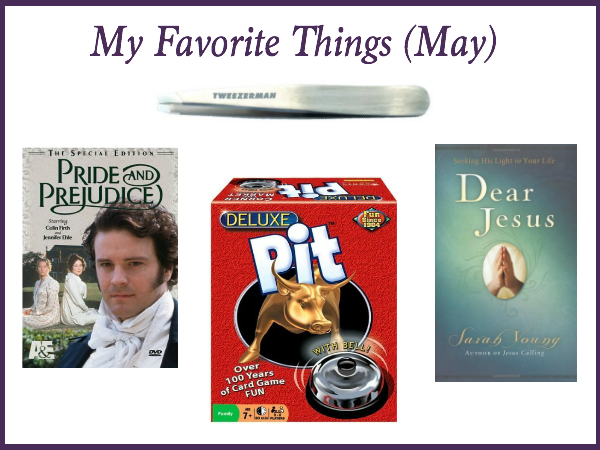 my favorite things may